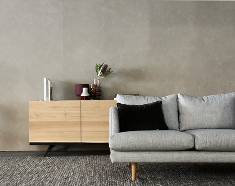 Furnishing Your First Home - gray couch